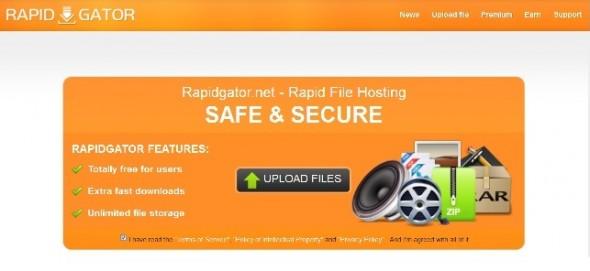 RapidGator bloqueado por PayPal y a punto de cerrar - rapidgator-590x271