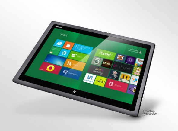 Nokia podría estar preparando una tablet con Windows 8 para este 2012 - 83j3A