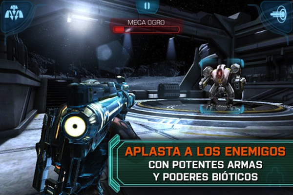 Mass effect infiltrator ios Mass Effect Infiltrator disponible para descargar en la App Store
