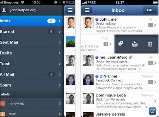 Sparrow para iPhone disponible en la App Store - Sparrow-iphone-app