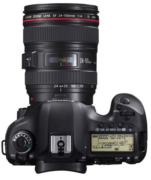 canon 5d mark iii side EOS 5D Mark III es anunciada oficialmente por Canon