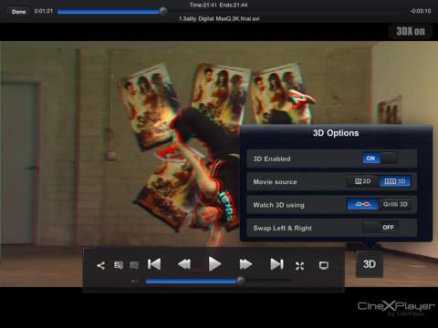 CineXPlayer: Reproduce XviD en tu iPad sin conversiones [Reseña] - cinexplayer-3d