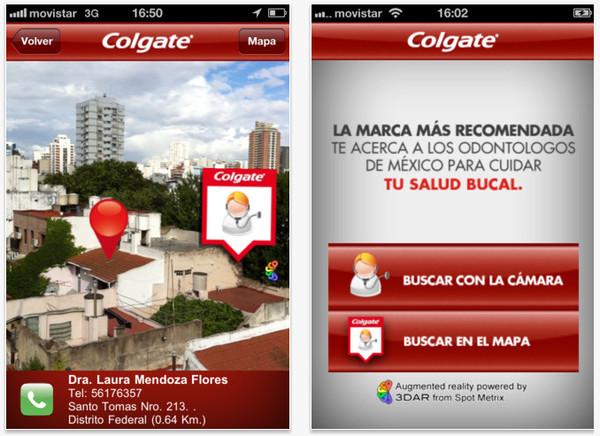 Colgate promueve la salud bucal con aplicaciones móviles - colgate-iphone-app