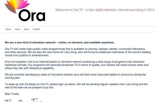 Ora.TV, la propuesta de Carlos Slim para la televisión por Internet - ora.tv_