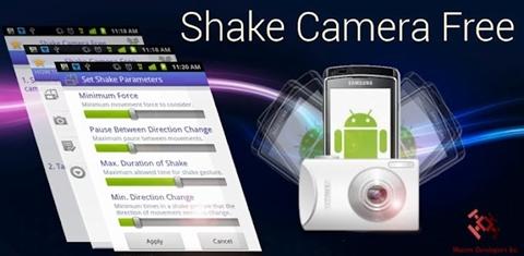 Shake Camera Free, activa la cámara de tu Android con un solo movimiento - shake-camera-free