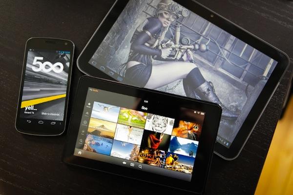 500px para Android, la red social de fotografías profesionales estrena aplicación - 500px-android