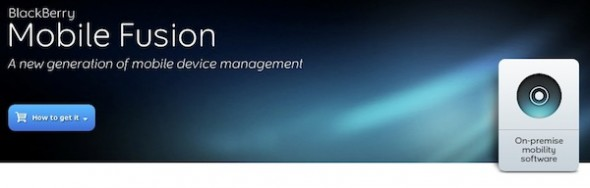 BlackBerry Mobile Fusion el nuevo servicio corporativo de RIM que muestra avances de renovación - Blackberry-mobile-fusion-590x188