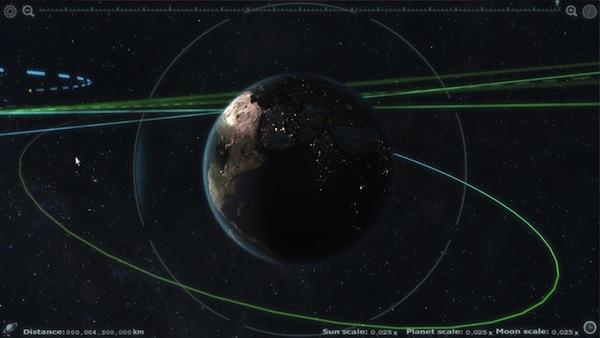 Desarrollador de videojuegos desempleado crea una impresionante aplicación para explorar el sistema solar - Earth_Render10