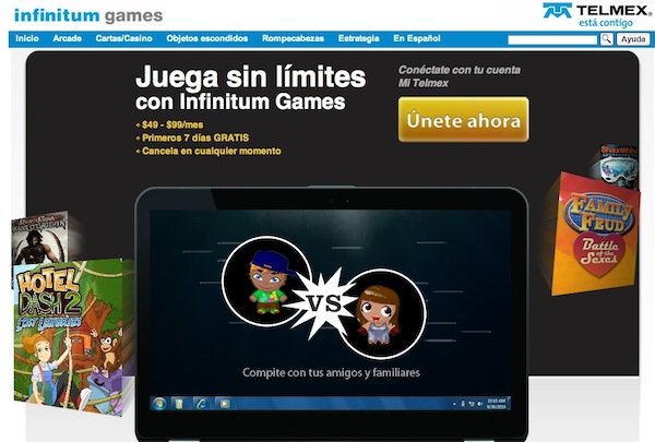 Infinitum games Infinitum Games, la nueva tienda de videojuegos de Telmex