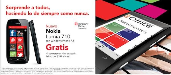 Nokia lumia 710 iusacell Nokia Lumia 800 y 710 disponibles a la venta en Iusacell