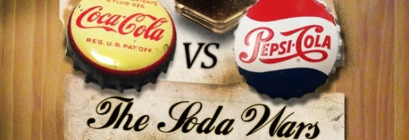 Coca Vs Pepsi, la historia de la guerra de las colas en una Infogafía - coca-vs-pesi-590x202