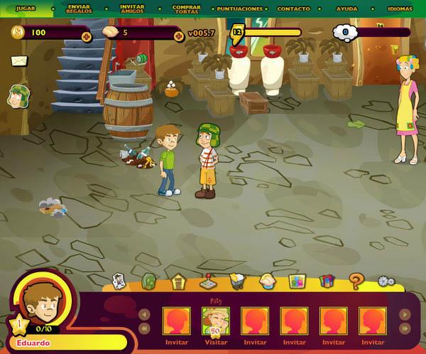vecindad chavo El juego de El Chavo llega al millón de usuarios