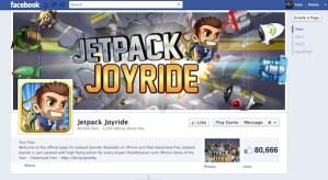 Jetpack Joyride disponible para Facebook, la adicción continua