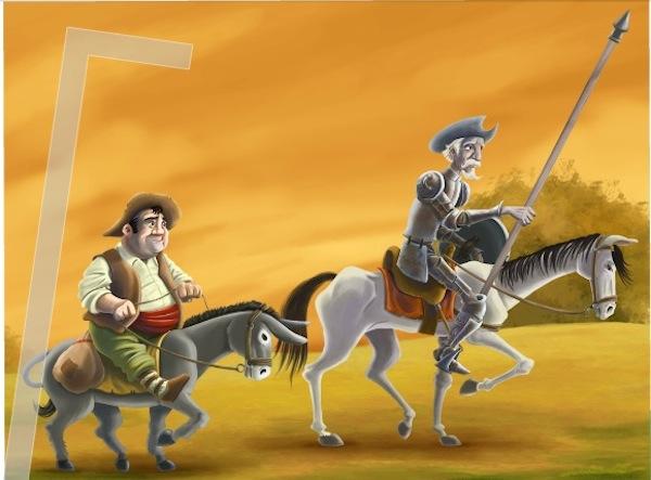 Don quixote ipad libro Don Quijote llega al iPad en forma de libro interactivo