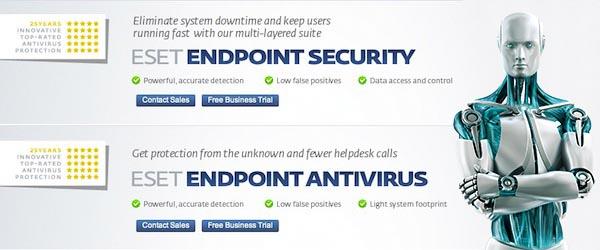 ESET aplicaciones empresariales ESET presenta sus aplicaciones de seguridad para oficinas Endpoint Security y Endpoint Antivirus