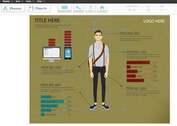 Easelly Crea espectaculares infografías con Easelly