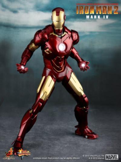 Iron Man Mark IV Las armaduras de Iron Man desde la Mark I hasta la Mark VII de The Avengers