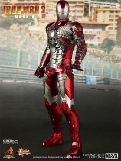 Iron Man Mark V Las armaduras de Iron Man desde la Mark I hasta la Mark VII de The Avengers