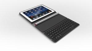 Logitech presenta su nuevo teclado solar para iPad, Solar Keyboard Folio