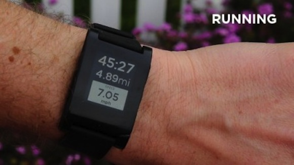 Pebble, el reloj de tinta electrónica consigue a su primer aliado, RunKeeper - Pebble-reloj-tinta-electronica