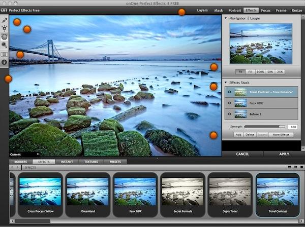 Aplica efectos a tus fotos con Perfect Effects para Mac - Perfect-effect-free