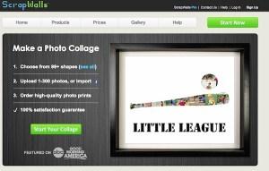 Crear collages online divertidos con ScrapWalls