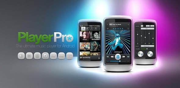 PlayerPro Music Player uno de los mejores reproductores para Android - android-music-590x288