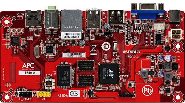VIA lanza un Android PC System por 49 dólares - apc-board