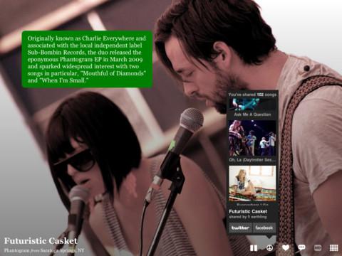 Descubrir nueva música con Aweditorium para iPad - aweditorium