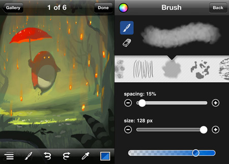 brushes iphone edition apps para dibujar en tu iPhone o iPod Touch
