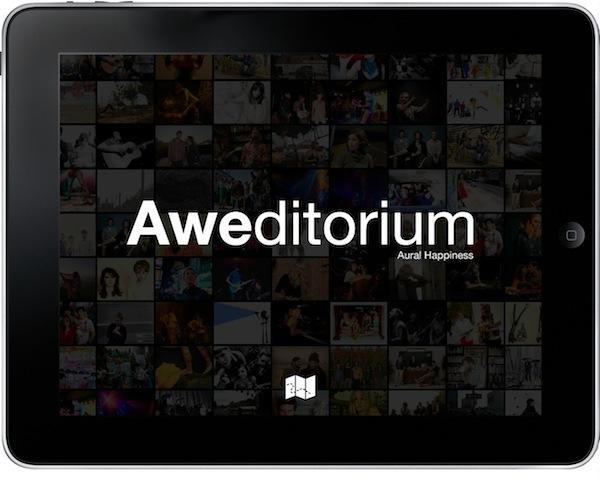 Escuchar música en iPhone / iPad - descubrir-nueva-musica-aweditorium-ipad
