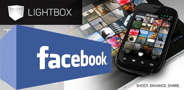 facebook compra lightbox Facebook compra Lightbox, el servicio para compartir imágenes para Android
