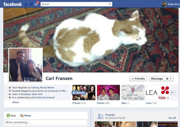 facebook old timeline full Facebook estaría probando un rediseño de su Biografía