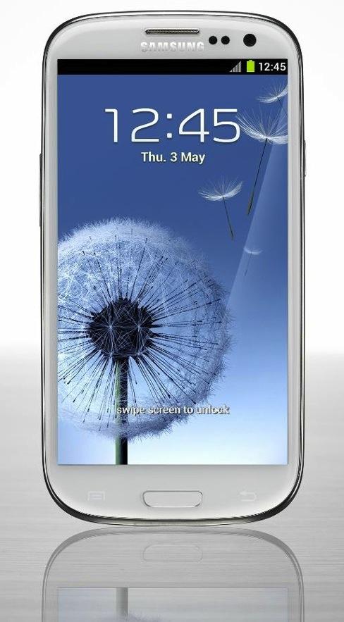 Es presentado oficialmente el Samsung Galaxy S III - galaxys3