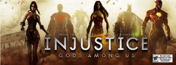 injustice gods among us 590x218 DC Comics anuncia videojuego de peleas para el 2013 [Tráiler]