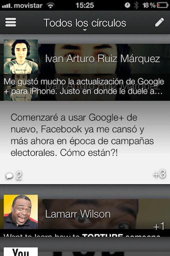 Google+ para iPhone se actualiza y luce increíble - la-foto-3