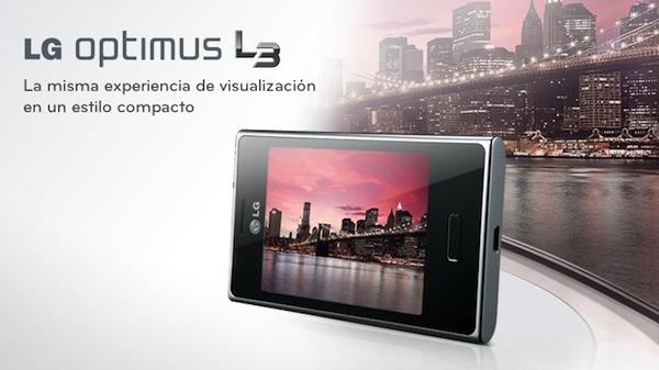 LG Optimus L3 E400 es presentado oficialmente