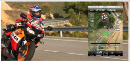 Moto Sport Telemetry Tracker, tu app y copiloto en motocicleta - moto-telemetry