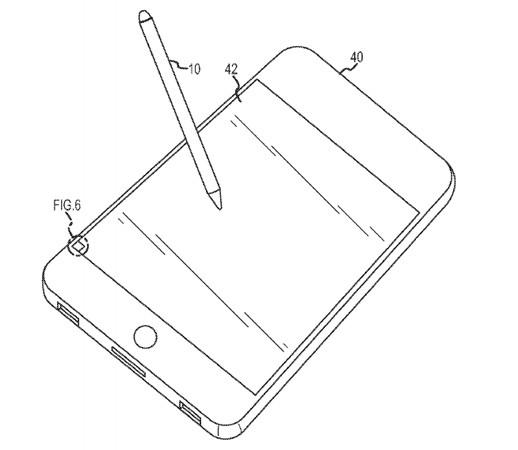 Apple solicita patente de un stylus óptico - patente-apple
