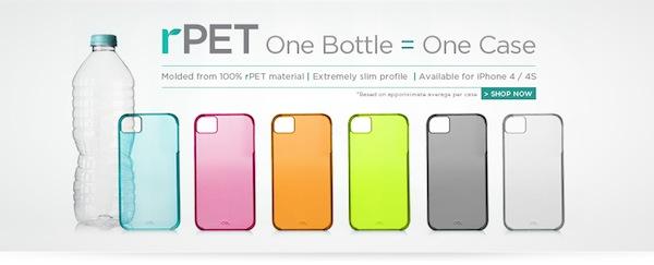Interesantes fundas ecológicas para iPhone que son creadas a base de botellas PET - rpet