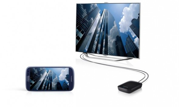 Estos son los accesorios oficiales del Galaxy SIII - samsung-galaxy-s3-allshare-cast-dongle-590x353
