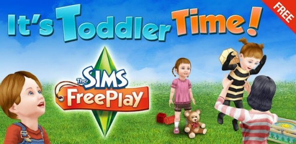 sims freeplay 590x288 The Sims FreePlay se actualiza con interesantes agregados para tus bebés