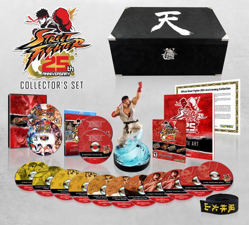 Capcom anuncia la colección de 25 aniversario de Street Fighter - street-fighter-aniversario