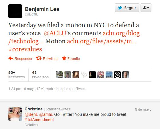 Piden a Twitter nombres y datos de participantes en Occupy Wall Street - twitter-legal
