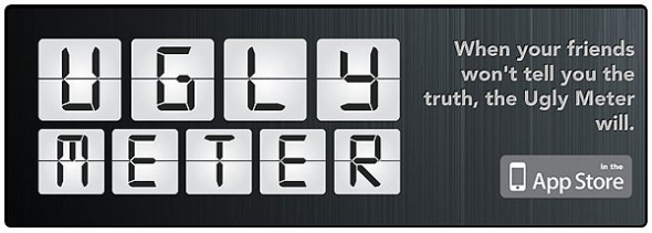 ugly meter splash 590x211 Ugly Meter, por si nadie te quiere decir la verdad