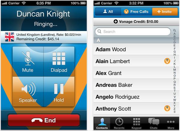Vonange extiende sus llamadas gratuitas a EU, Canadá y Puerto Rico a través de su app móvil - vonange
