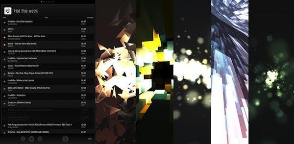 APEXvj, una sorprendente aplicación para visualizar música