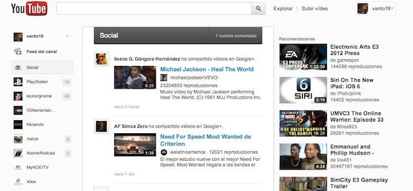 Activar nueva interfaz youtube 3 Como activar la nueva interfaz de Youtube en Chrome
