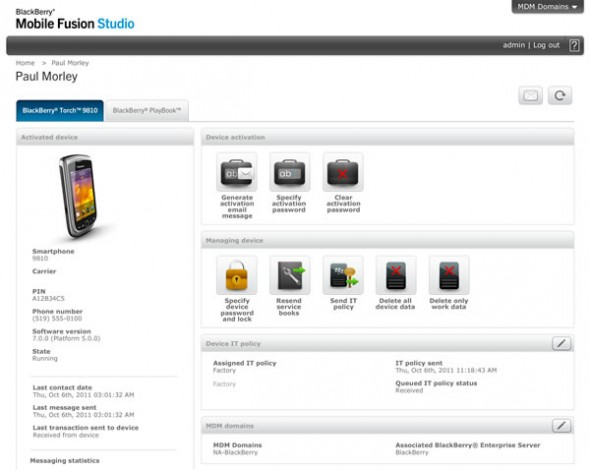 BB mobile fusion 590x470 Presentan BlackBerry Mobile Fusion