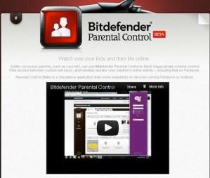 Bitdefender presenta la versión beta de su control parental